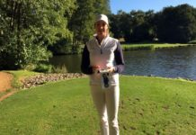 Lauren Blease how to keep golf statistics womens golf
