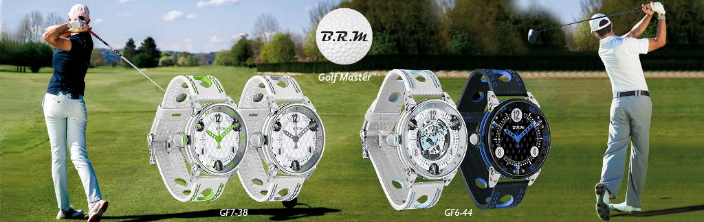B.R.M. Watches - Golf Collection
