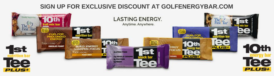 Golf Energy Bars - discount offer