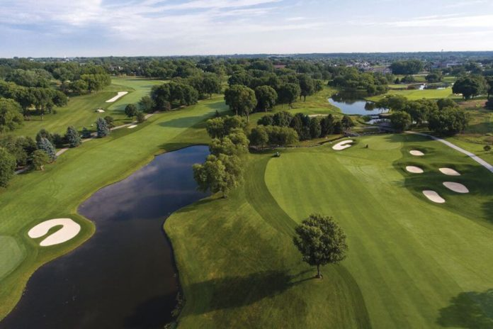 Setting Up the Course for the 2017 Solheim Cup
