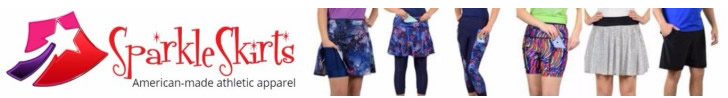 Sparkle Skirts American Made Athletic Apparel