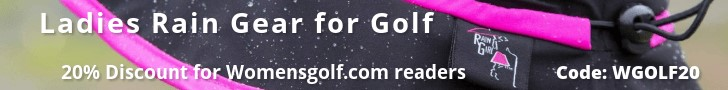 Rain Girl Golf - Ladies Rain Gear - 20% Discount for WomensGolf.com readers just use code WGOLF20