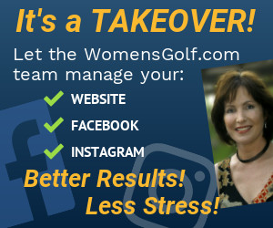 Let the Women's Golf team manage your website and social media