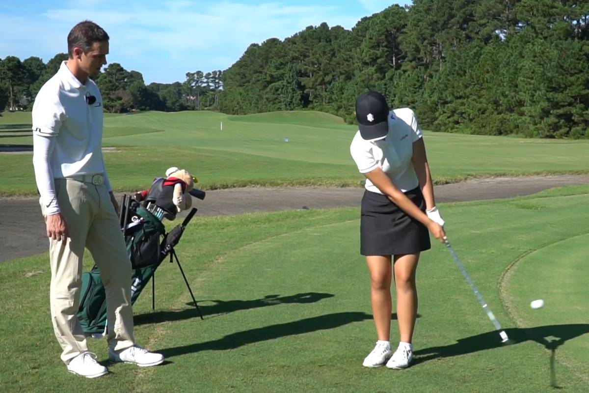 Improve your chipping - Daniel Jackson - Womens Golf ...